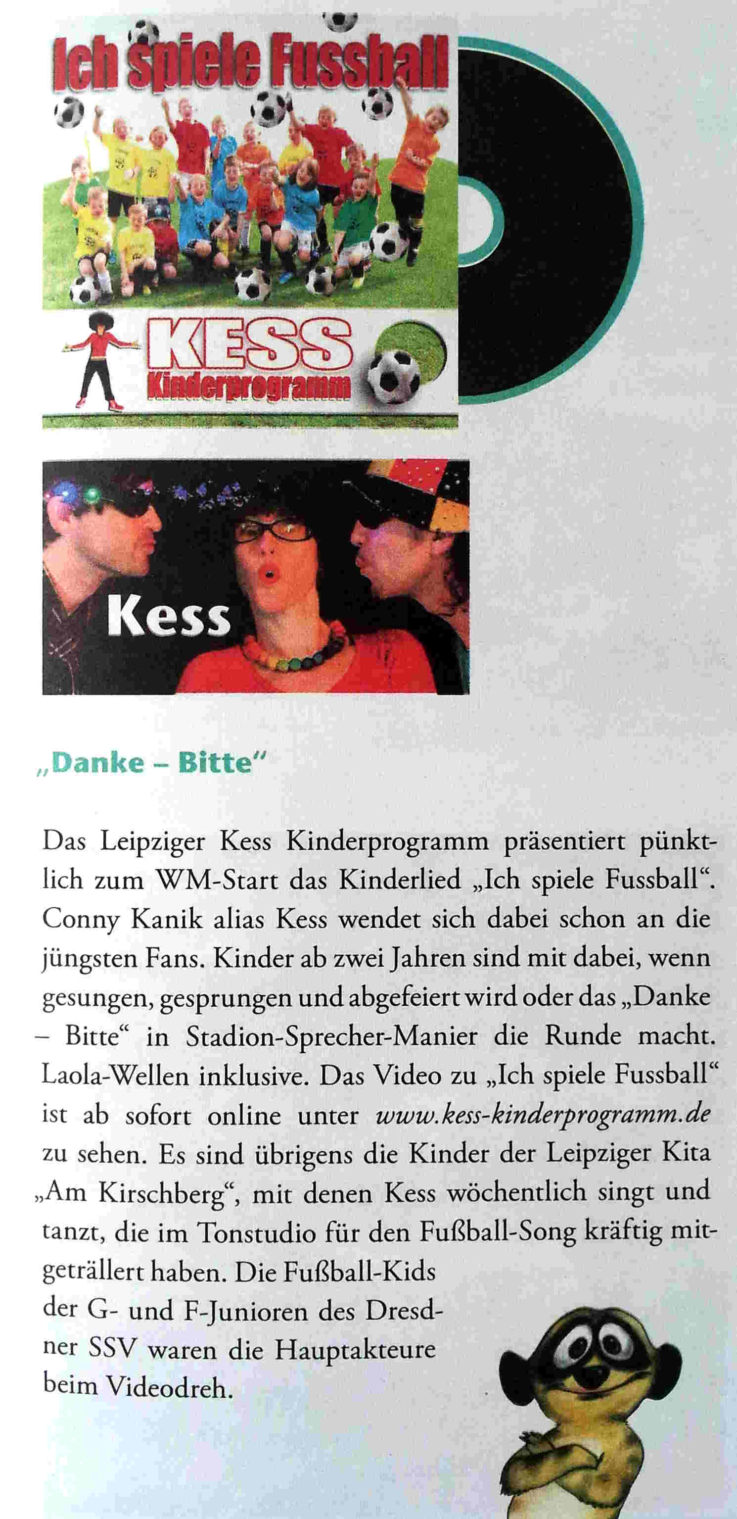 Schlingel Juni Ausgabe 2014 - klein