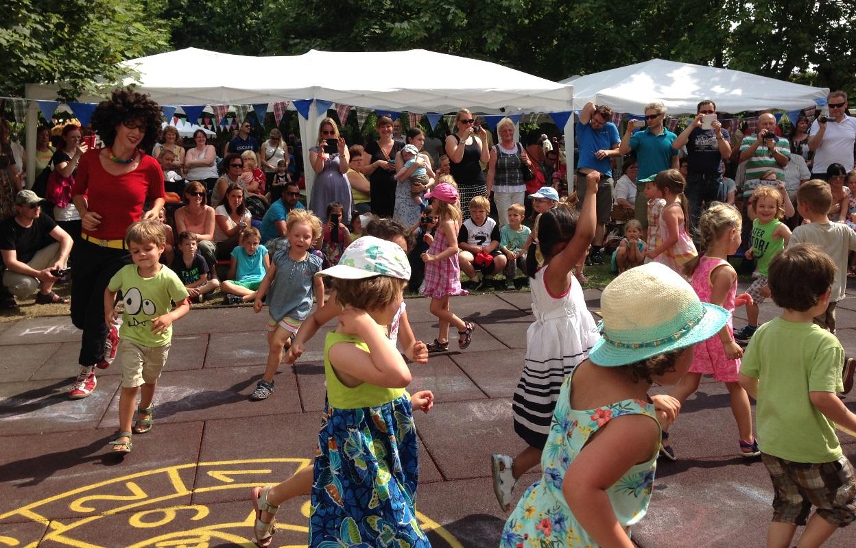 Sommerfest Kita am Kirschberg 1