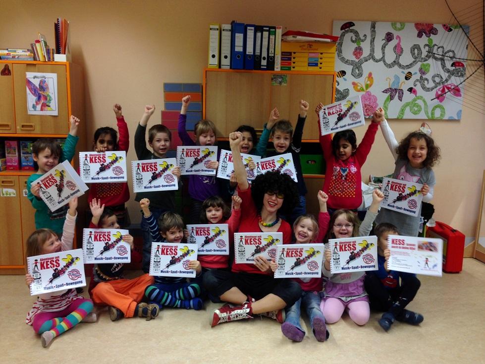 Abenteuer mit KESS Musik Bewegungsprogramm Kindergarten