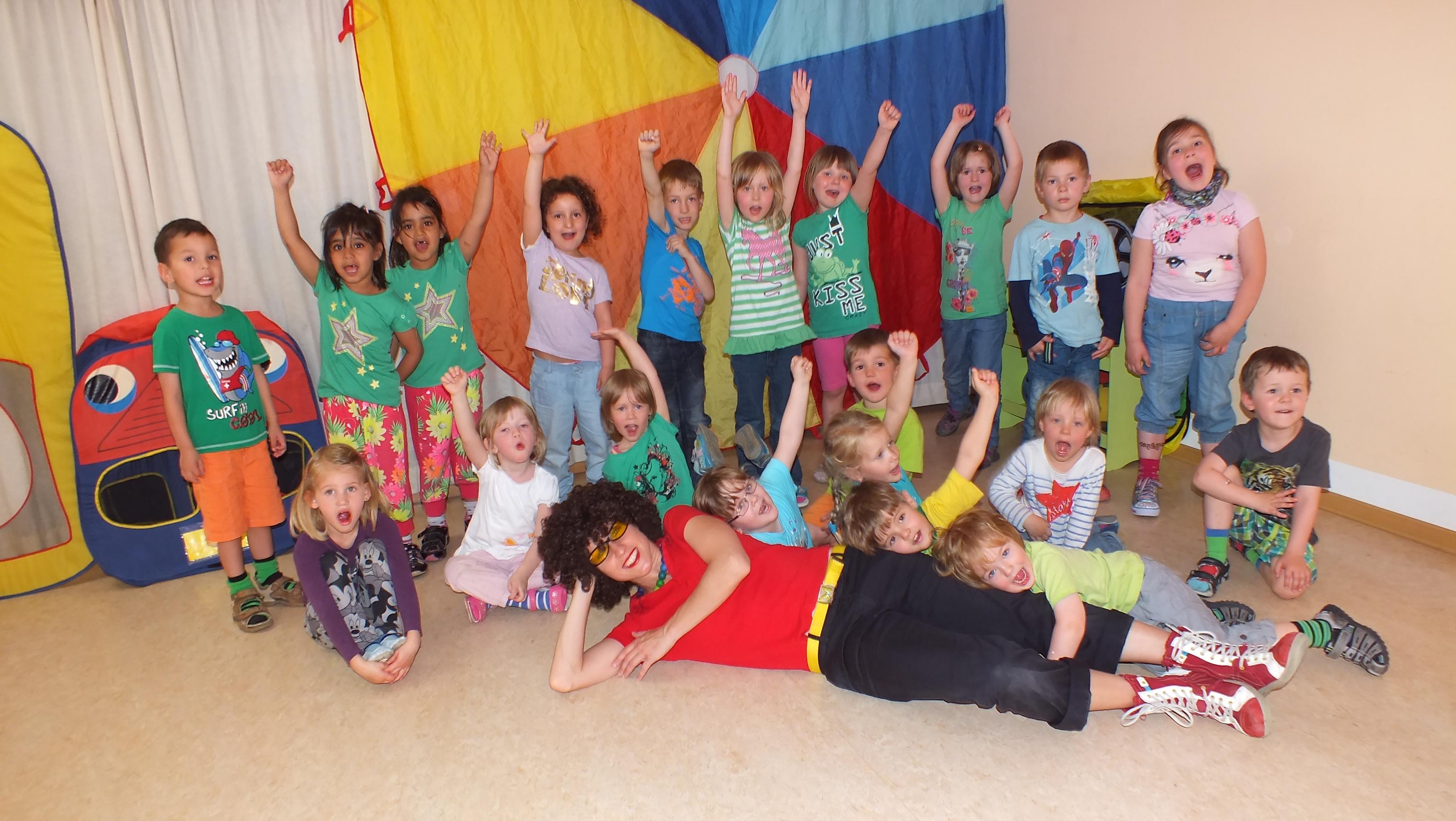 Outlaw Kita Am Kirschberg Musik- und Bewegungsprogramm für Kindergartenkinder