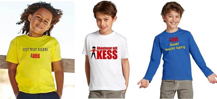 Abenteuer mit KESS T-Shirt