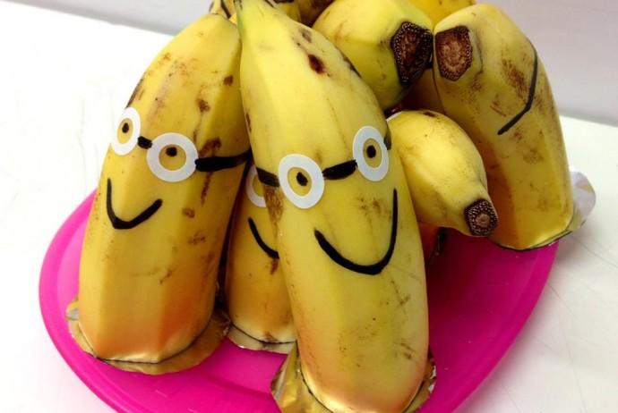 Abenteuer mit KESS im Ötztal Minions Fasching Bananen Idee